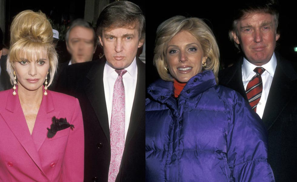 Ivana And Donald Trump Wedding 1977.Marla Maples Archives Biographytree