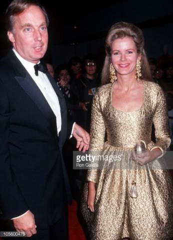 Robert Trump with his ex-wife Blaine Trump