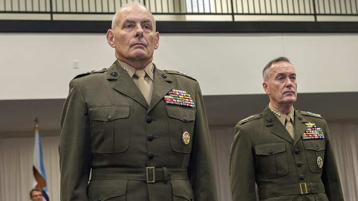 John F Kelly is a military officer.