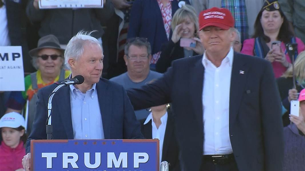 Jeff Sessions has been an avid supporter of Donald Trump's presidential campaign along with his MAGA trend.