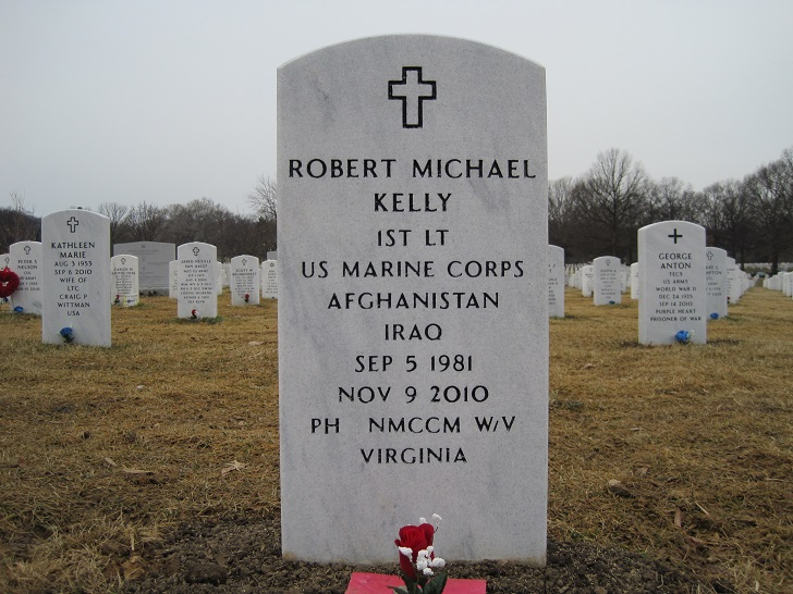 Joh  F Kelly's son Robert Kelly died in the US mission to Afghanistan.