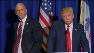 Keith Schiller is the personal bodyguard of Donald Trump.