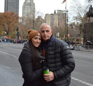 Keith Schiller with his wife. He is a married man and the couple has a daughter together.