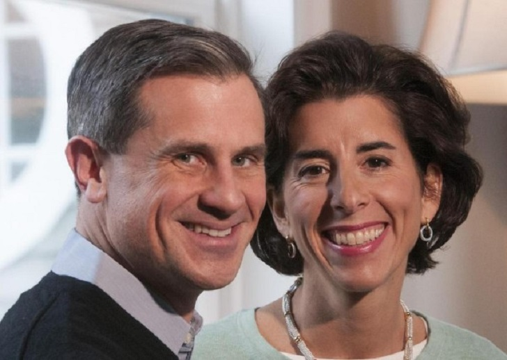Andy Moffit with wife Gina Raimando