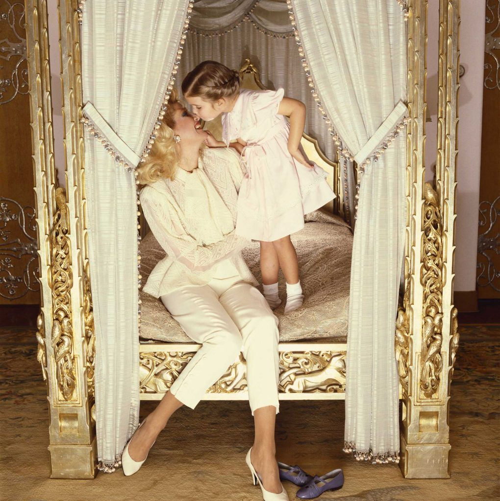 Ivanka Trump with her mother Ivana Trump.