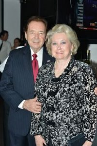 Elizabeth Trump Grau with her husband