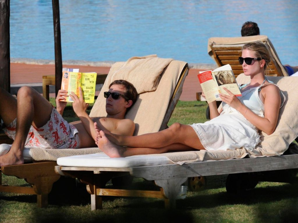Ivanka Trump,the daughter of Ivana and Donald Trump, on holiday with her husband Jared Kushner.