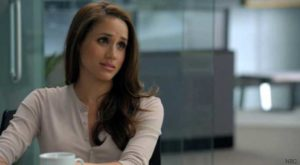 Meghan Markle as Jessica Pearson in the TV series Suits (The ey to success)