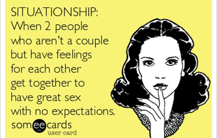 You might be in situationship without knowing it.