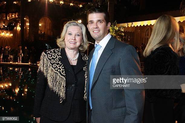 Elizabet Trump Grau with Donald Jr. Trump.