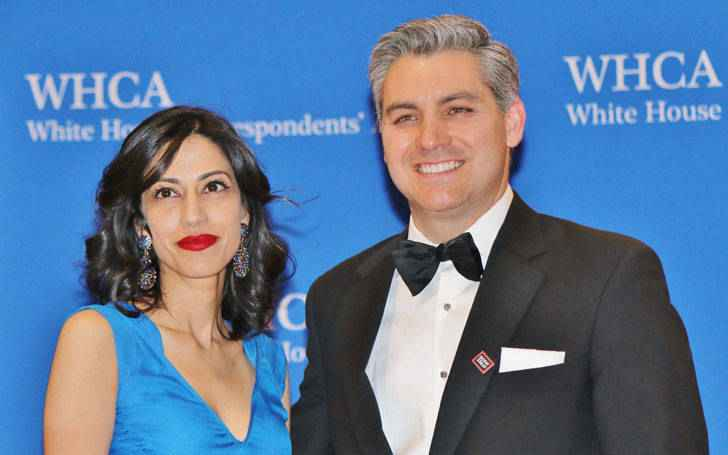 Acosta with his ex-wife Sharon Mobley Stow