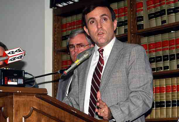 Rudy Giuliani during 1987.