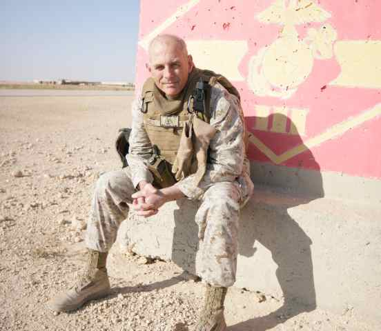 John F. Kelly in Iraq, as The United States Marine Corps