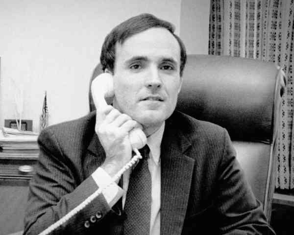 Rudy Giuliani during the 1980s.
